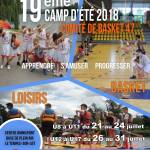 affiche camp basket A3