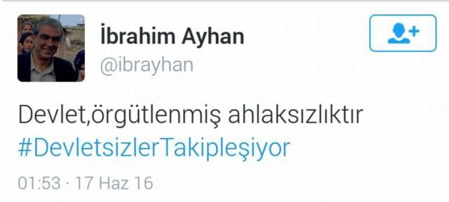 ibrahim ayhan