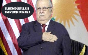 Ala Talabanî dîsa bi xwe de rît