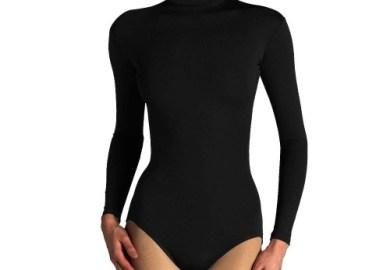Black Long Sleeve Bodysuit