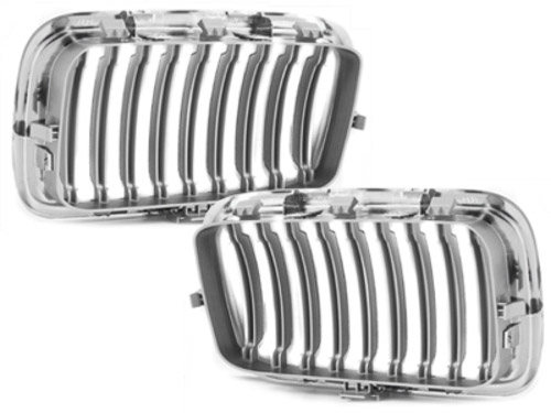 front grill BMW E36 3 series 91-96_chrome