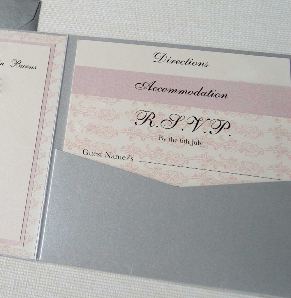 Custom Made Save Date Cards