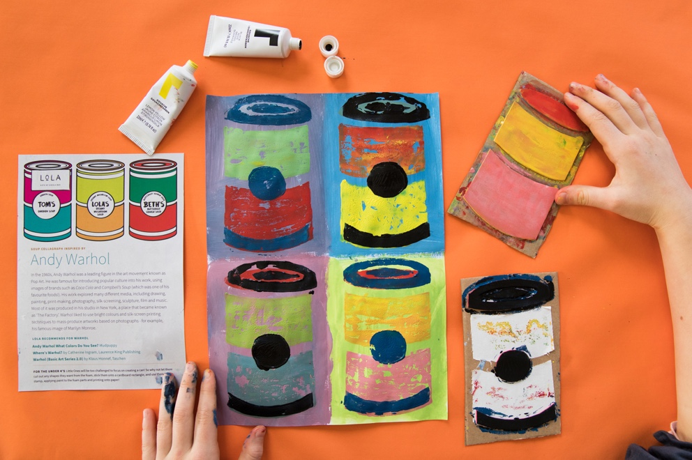 Perfect Print art and craft boxes for children