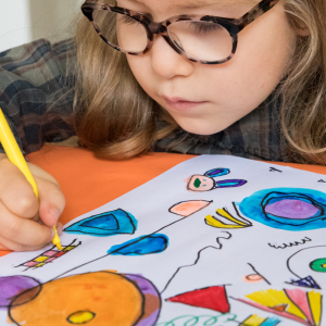 LoLA Lively Lines Art & Craft Projects for Children Inspired by Kandinsky