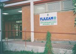 Ingresso Del Centro FIJLKAM di Catania