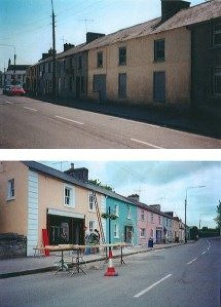 complete village makeover near Dublin, Ireland