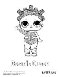 Lol Queen Coloring Page 20 Lol Doll Coloring Pages Splash Queen