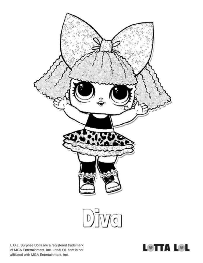 Diva Glitter LOL Surprise Doll