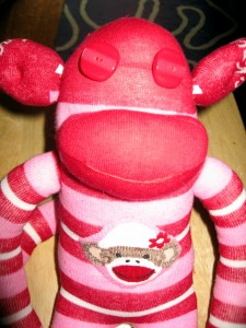 Sock Monkey - Finished - Closeup