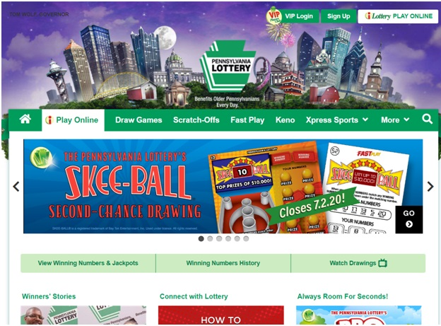 How to play lotteries in USA online
