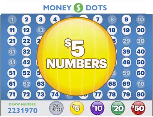 Money Dots game play wins