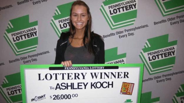 Pennsylvannia Lottery winner