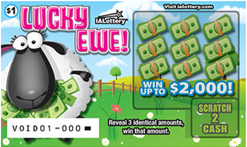 Scratch off games from Iowa lotteries
