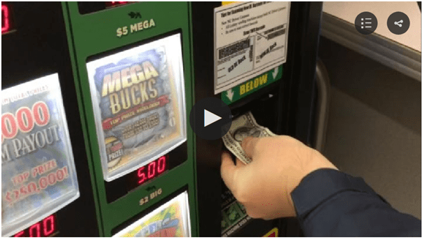 Does lottery vending machines in US have all types of