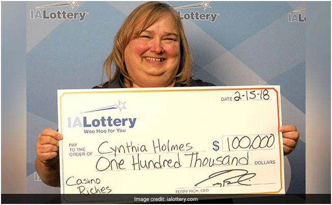 Lotto winner- Scratch off winner Iowa lotto