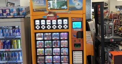 lotto vending machine- Buy US lotteries
