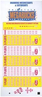 Megabucks-Ticket