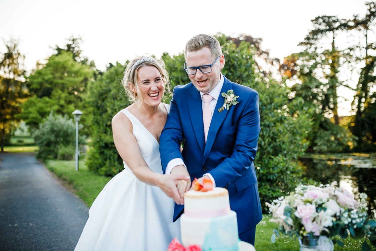 Outdoor wedding in Hereford