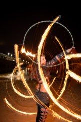 UK fire performer