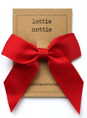 red classic bow lottie nottie