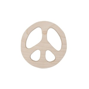 Wooden Story beissring Peace teether
