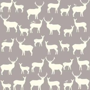 Birch Fabrics - Elk Groove - Elk Fam Shroom
