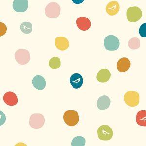 Bio-Jersey Birch Fabrics Birch Basics - Dot in multi