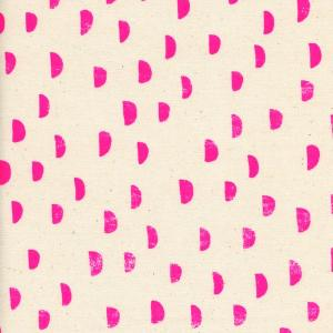 Cotton&Steel Print Shop - Moons Pink