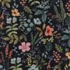 Cotton&Steel - Amalfi - Herb Garden Midnight CANVAS