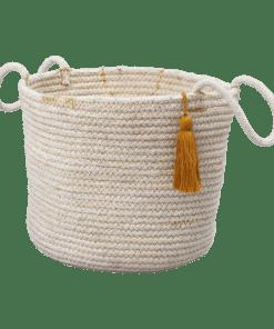 Fabelab - Rope Basket - Ochre