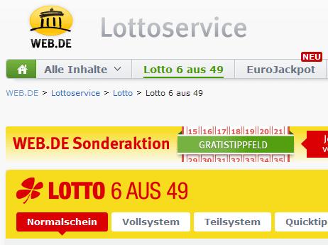 Web De Lottoservice