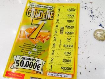 """""""Goldene 7""""-Los geöffnet"""