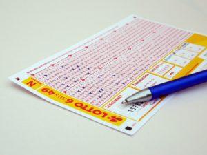 Lotto-Tippschein nach 2000