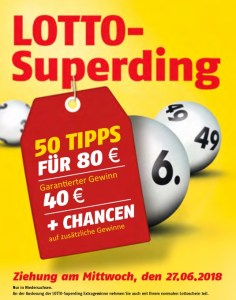 Lotto Superding 27.06.18 in Niedersachsen