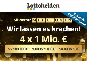 Lottohelden Silvester-Millionen
