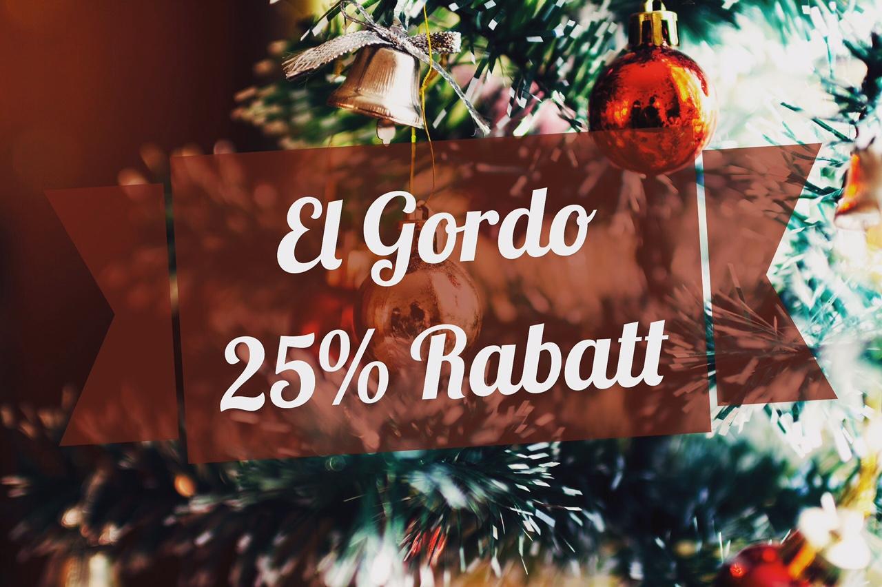 El Gordo-Lose: 25% Rabatt auf die spanische Weihnachtslotterie ...