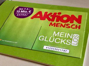 """""""Mein Glückslos"""" von Aktion Mensch"""