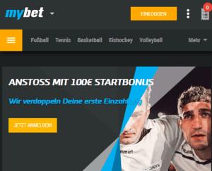MyBet.com Screenshot