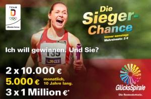 Siegerchance Gewinnplan 2018