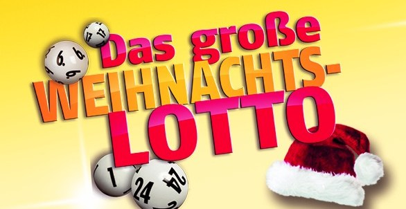Das große WEIHNACHTS-LOTTO Gewinnspiel