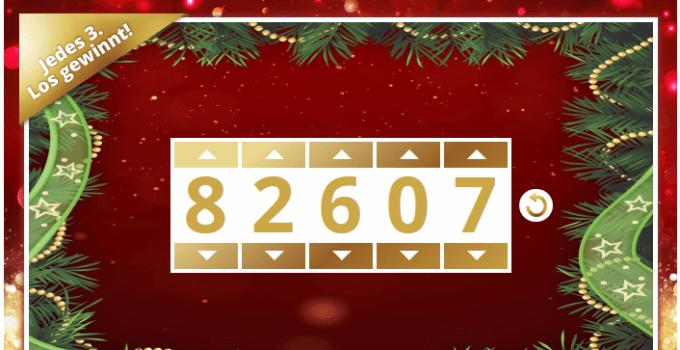 Deutsche WeihnachtsLotterie von Lottohelden Tippschein