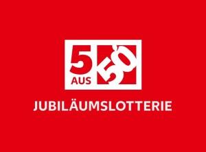 5aus50 Jubiläumslotterie Logo