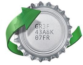 Gewinncode im Deckel einer Veltins Pilsener Flasche
