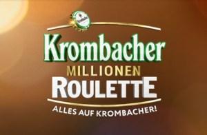 Krombacher Millionen Roulette Logo