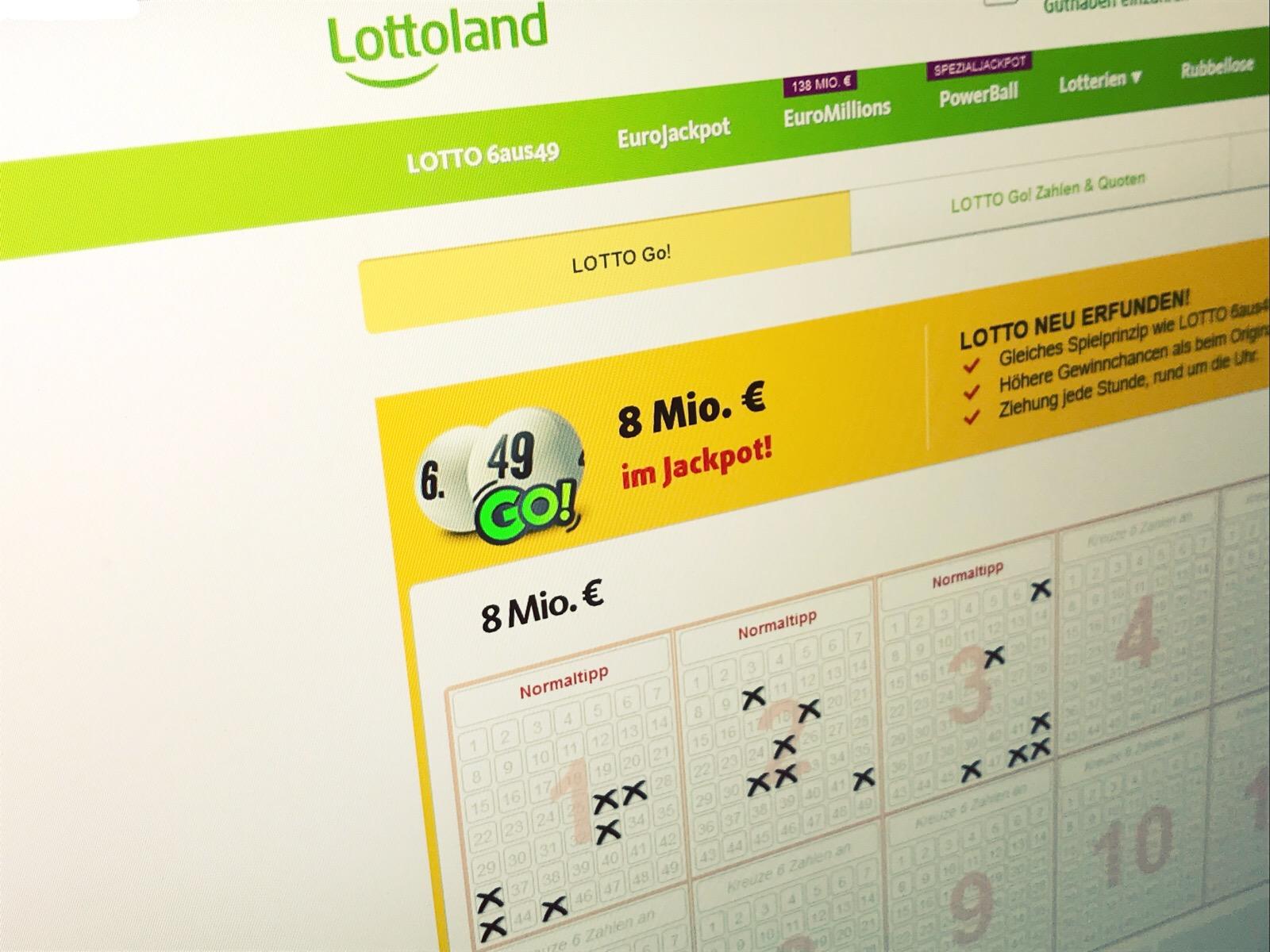 hight resolution of lotto go von lottoland