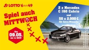 Westlotto Sonderauslosung 09.05.2018 Mercedes C180