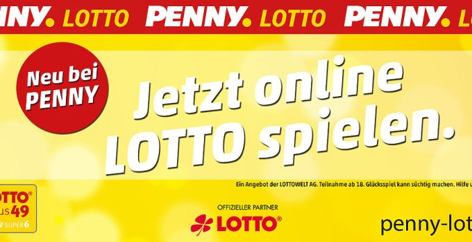 PENNY LOTTO Werbeanzeige