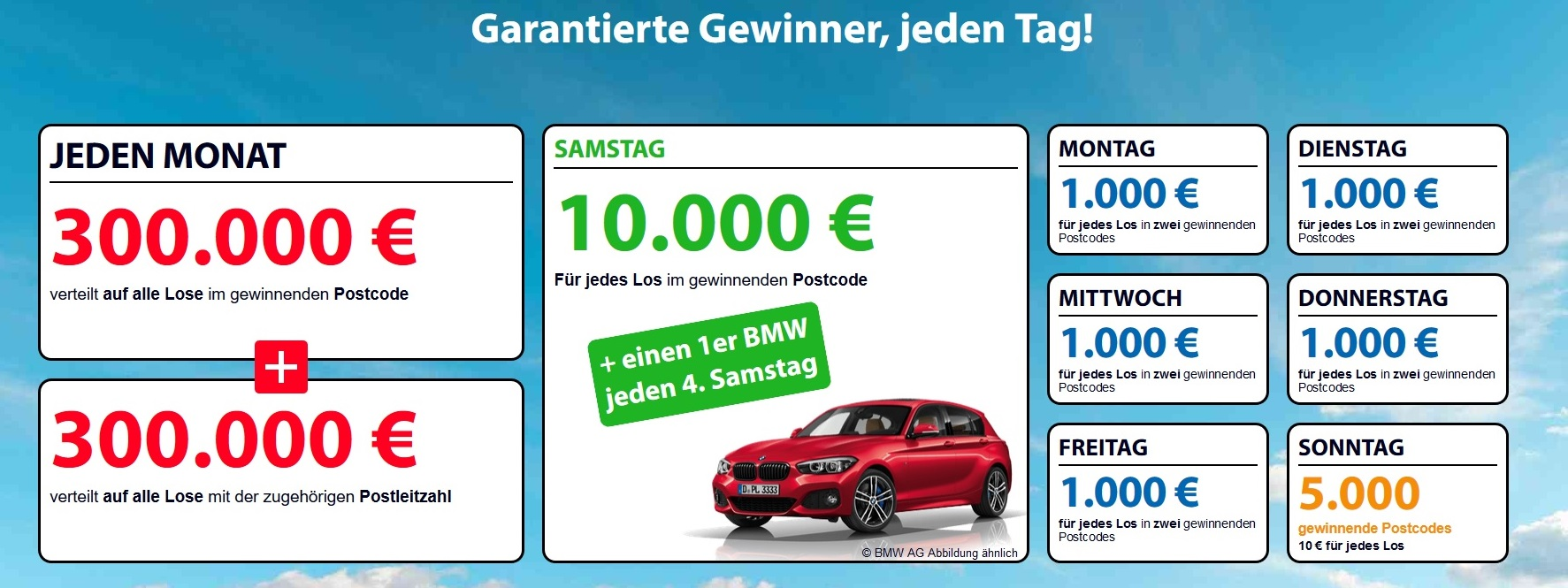 Postleitzahl Lotterie Deutschland