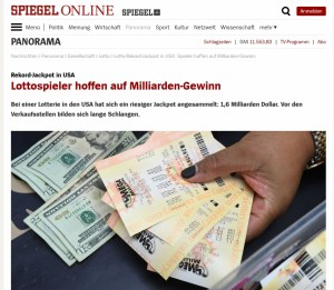 Spiegel Online Lottorekord 2018