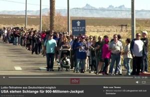 n-tv Schlangen vor Lotto-Annahmestellen